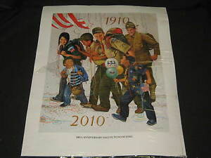 Csatari 100th Anniversary Salute to Scouting Boy Scout Print ptr2