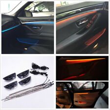 2 Colors Car Interior Decor LED Door Light Strip Atmosphere Lamp For BMW F10/F11