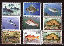 ALGERIE  POISSONS de mer  SEA-FISH: série neuf  N° 902-905  28m487