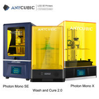 ANYCUBIC Photon mono SE / 4K Mono X LCD Resin 3D Printer TFT / Wash and Cure 2.0