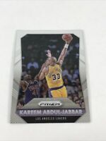 2015-16 Panini Prizm Los Angeles Lakers Basketball Card #297 Kareem Abdul-Jabbar
