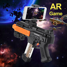 AR GUN Augmented Reality Shooting Game Smart Phone holder Bluetooth control Toy