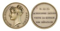 O462, France & Italy, Bronze Medal by Andrieu, Pauline Bonaparte, Mint Visit
