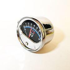 Vintage Mooneyes 1/2 Sweep Tachometer -For 4, 6 or 8 Cylinder Engines