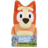 """Bluey Best Mate Bingo 16"""" Large Plush Stuffed Toy Dog Licensed"""