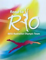 2016 AUSTRALIA STAMP PACK 'ROAD TO RIO AUSTRALIAN SPORTS TEAM ' MINI SHEET