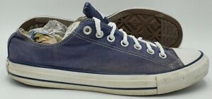 Converse Chuck Taylor All Star Low Canvas Trainers M9697 Blue UK9.5/US9.5/EU43