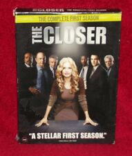 The Closer. The Complete First Season. DVD. Four Discs. Kyra Sedgwick.