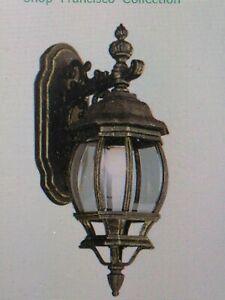 "Trans Globe Lighting 4053 RT Outdoor  Wall Lantern,20"" HIGH, 1 MED 100W BULB(43)"
