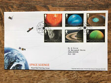 GB FDC 2012 Space Science, Tallents Pmk