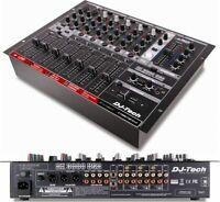 Dj Tech DX3000USB Professional 7-channel Dj Mixer W/ Deckadance Le Dj Software