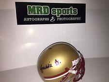2016 Florida State Seminoles signed autograph football helmet Stevenson White