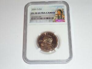 2001 S Sacagawea $1  PF 70 Ultra Cameo