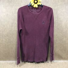 American Eagle Vintage Fit Mens Thermal Pullover Shirt Size M Long Sleeve jr4342