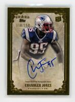 2012 Topps 5 Five Star CHANDLER JONES ON-CARD Rookie RC AUTO AUTOGRAPH #/150