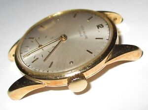 Vintage Patek Philippe 1517 - 18K Solid Gold Men's Watch