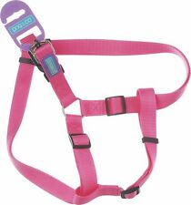 "Dog & Co Pink Strong Nylon Medium 3/4"" X 30"" Fully Adjustable Harness"