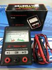 Toy RC Thunder Tiger Expanded Scale Analog Voltmeter w/leads