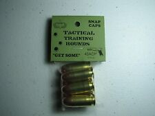 45 ACP  TACTICAL TRAINING ROUNDS,  SET OF 6 SNAP CAPS