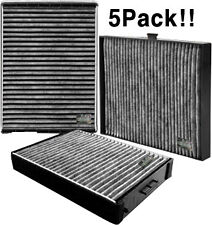 Charcoal activated cabin air filter for HYUNDAI 2006-2012 Accent / Elantra 5Pack