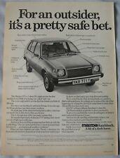 1979 Mazda Original advert