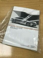 NEW GENUINE AUDI A7 SPORTBACK OWNER'S MANUAL YEAR 2011