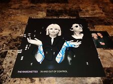 The Raveonettes Signed In And Out Of Control Limited Edition Vinyl LP Photo COA