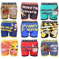 Gaffer Mens Designer Rude Novelty Boxer Shorts Boys Funny Trunks Gift Underwear