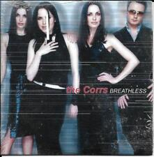 CD CARTONNE CARDSLEEVE  THE CORRS 2T BREATHLESS + 1 INEDIT !!!!!!!!
