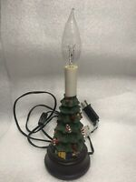 VINTAGE CHRISTMAS TREE NIGHT LIGHT Preowned Without Lampshade