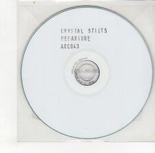 (GO210) Crystal Stilts, Departure - DJ CD