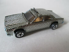 1977 Hot Wheels Gleam Team Gold Chrome Gleamer Patrol Police Car Malaysia (Mint)