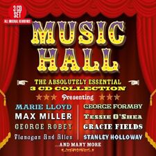 MUSIC HALL-ABSOLUTELY ESSENTIAL  3 CD NEW!