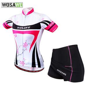 Female Mini Skirt + Shirt MTB Bike Clothing Ropa Ciclismo Cycling Jersey Sets