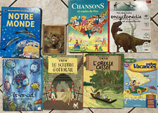 Lot of 60 French Children's Books and Magazines