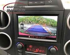 Peugeot Partner Tepee - Reversing Reverse Camera Kit