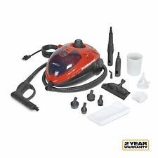 Red Steam Machine Multi-Purpose Steam Car Care Automotive Cleaner Dirt Remover