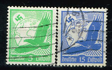 Germany Third Reich Airmail Swastika Eagle over Globe rare stamps 1934