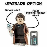 Custom Printed 10th TRAVELLER DOCTOR WHO Lego Minifigure -Genuine Lego -NEW-