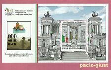 2021 Italia  MILITE IGNOTO  Foglietto Tariffa B MNH**