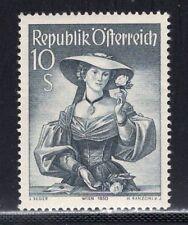 Austria 1950 Costumes 10 Shilling VF MNH