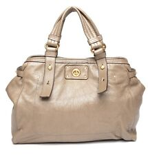 Marc By Marc Jacobs Womens Puma Taupe Lucy Leather Satchel 1053