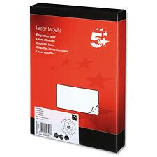 250 Sheets Laser Labels 14 per sheet 3,500 Labels- 909361