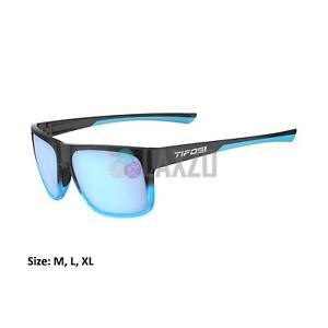Tifosi Swick Sports Single Lens Eyewear Onyx Blue Fade/New blue