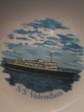 HOLLAND-AMERICA LINE SS VOLENDAM PORTRAIT PLATE ROYAL FALCON