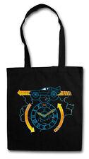 Clocktower run hipster Tote Bag back to DeLorean the future sustancia bolsa