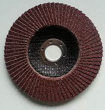 Fächerscheibe Ø115 mm Korn 120 Schleifscheiben Stahl Holz Metall Fächerscheiben