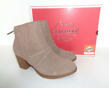 Skechers New Ladies Suede Memory Foam Ankle Boots Shoes RRP £65.00 UK Sizes 3-8
