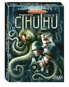 Pandemic: Reign Of Cthulhu Board Game SEALED UNOPENED FREE SHIPPING
