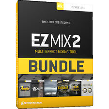 NEW ToonTrack EZMix 2 COMPLETE Production Bundle - Music Production Software-ESD
